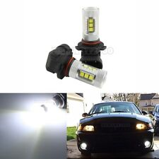 2x 6000K White 9005 HB3 80W LED Bulbs High Power only for Fog Lights and DRL