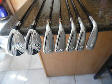 Very nice 11 club Lady Adams Idea hybrid iron set w/Adams Idea & Insight woods!!