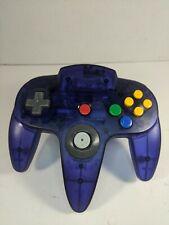 Authentic OEM Nintendo N64 Funtastic Atomic Grape Purple Controller 10/10 Stick