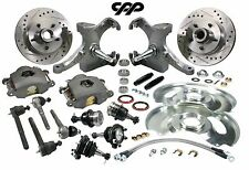 63-70 CHEVY C10 PICKUP TRUCK DROP SPINDLE DISC BRAKE CONVERSION KIT 5 LUG