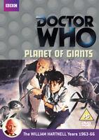 Doctor Who: Planet of Giants DVD (2012) William Hartnell, Camfield (DIR) cert