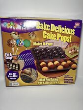 As Seen On TV BakePop Baking Pan & Accessories Cake Pops new