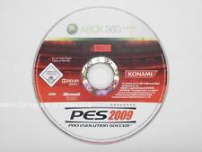 jeu seul PRO EVOLUTION SOCCER pes 2009 sur xbox 360 en francais sport spel loose