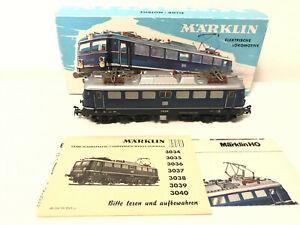 Märklin H0 3039 E-Lok E10 238 wie neu unglaublicher Zustand!! Originalverpackung