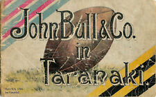 TARANAKI v BRITISH ISLES 1904 OFFICIAL RUGBY PROGRAMME LIONS TOUR OF NZ *RARE*