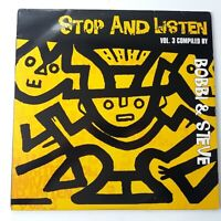 VA - Bobbi & Steve - Stop & Listen Vol 3 - Vinyl Double LP UK 1996 EX/EX