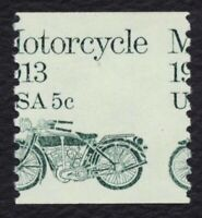 #1899 5c Motorcycle, Misperf, Mint **ANY 4=FREE SHIPPING**
