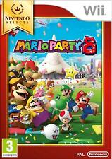 Wii Game Mario Party 8 [Nintendo Selects] with More than 60 Mini Play New
