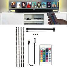 6.5FT TV Computer Backlight 5V USB LED strip Light 5050 RBG Background Lighting