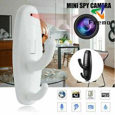 Mini Spy Clothes Hook Camera Hidden Nanny Cam DVR Camcorder Motion Detection