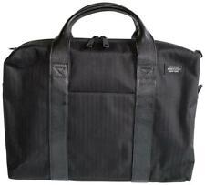 Jack Spade Briefcase Black Nylon Leather Laptop Bag