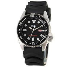 Seiko SKX013K1 Automatic Diver Black Rubber Strap Analog Watch