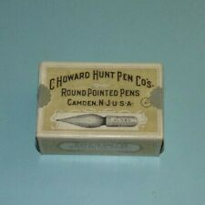 13,C.Howard Hunt Pen Co.,Vintage,Pen,Nibs,Box,of No.513,Very Good Condition!