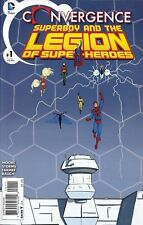 Superboy And The Legion Of Superheroes Comic Issue 1 Convergence Modern Age 2015