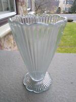 VINTAGE Blue Fenton Sheffield Footed style Vase