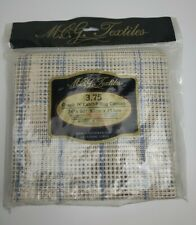 Mcg Textiles 3.75 Graph N' Latch Rug Canvas 36� X 60� for Latch Hook New!