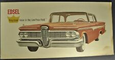 1959 Edsel Large Postcard Brochure Sedan Ford Original 59