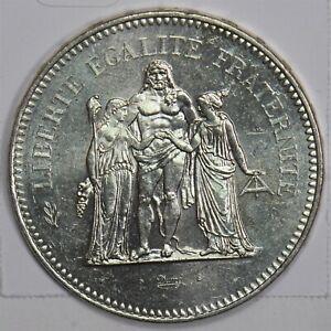 France 1978 50 Francs BU 100029 *SFCOIN
