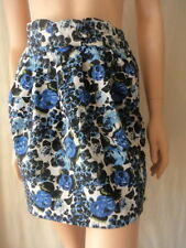 Cotton Blend Mini Floral Skirts for Women