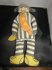 McDonald's Vintage Hamburglar Cloth Doll