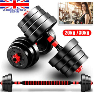 20KG 30KG Dumbells Pair of Gym Weights Barbell/Dumbbell Body Building Weight Set