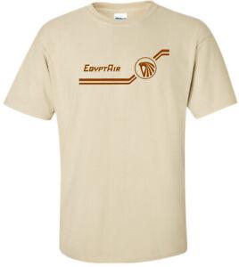 EgyptAir Retro Logo Egyptian Airline Aviation T-Shirt