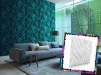 Luxury 3D Wall Ceiling Panel FLAMES 60 x 60 Decorative Cladding Wallpaper Tile