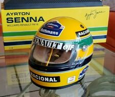 Ayrton Senna Mini Helmet Esc. 1/2 F1  Williams FW16 Season 1994