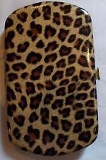 Slim Mini Wallet Ladies Leopard Design