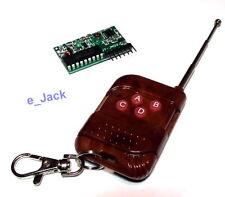 IC 2262/2272 4 Ch teclas de control remoto inalámbrico 315 MHz módulo receptor F Arduino