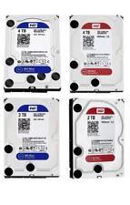 """WD RED 4TB 8TB BLUE 1TB 2TB 3TB 4TB Hard Drive 3.5"""" SATA Internal NAS HDD 10TB"""