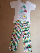 BNWT Tuc Tuc Girl's T Shirt & Leggings Set Age 14 RRP £33