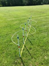 """Dog Agility Equipment10 Weave Pole Guide WiresSnap on to fit 3//4/"""" poles"""
