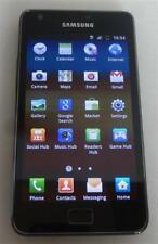Samsung Galaxy S II GT-I9100 16GB Black Unlocked Mobile Smartphone *Chipped Edge