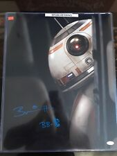 Star Wars Brian Herring/Bb-8 Autographed 16'x20' Jsa Certified Picture