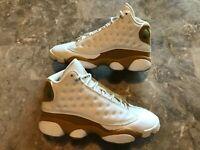 2004 OG Nike Air Jordan 13 XIII Retro Wheat White Size 4.5Y (309260-171) RARE!