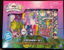 Innovative Designs Hatchimals Girls 30 piece Stationery Set
