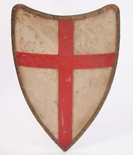 Encadrée Imprimer-médiévale templiers bouclier (photo art CROIX DU ROI ARTHUR)