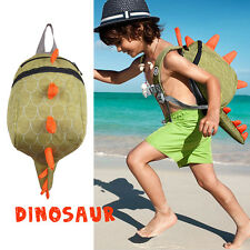Dinosaur Waterproof Backpack School  Kindergarten Bag Children Kids Boys Girls
