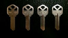(4) KWIKSET or SCHLAGE House Keys Cut to Your Code KW1 SC1 Key *FREE SHIPPING*