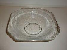 Madrid Depression Glass Pattern Clear Glass Bowl