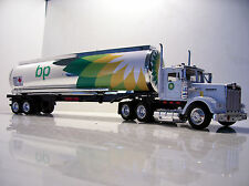 KENWORTH W900 BP  Fuel Tanker Diecast Truck/Trailer Custom Graphics