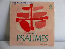 RP DEISS Psaumes Volume II ERATO LDE 1029
