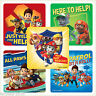 PAW PATROL Stickers x 10  Ryder,Marshall,Chase-Favours Birthday Party Supplies