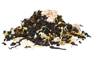 Apricot and Peach Black Tea - Loose-Leaf Luxury Breakfast Tea - 60g - 80g