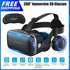 More details for 360° vr headset goggles 3d glasses virtual reality headset for mobile phone