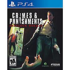 Sherlock Holmes: Crimes & Punishments (Sony PlayStation 4, 2014) PS4 NEW