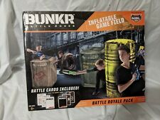 New listing BUNKR Battle zones Inflatable Game Field Tournament Pack For Nerf or Laser tag 4