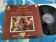 9502 007 HANDEL Organ Concertos Chorzempa, Concerto Amsterdam- Schröder  PHILIPS