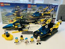 LEGO Res-Q 2x Sets 6462 Aerial Recovery + 6473 Hovercraft Cruiser VINTAGE 1998